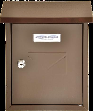 Пощенска кутия CESENA кафява