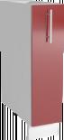 Трейси Шкаф долен с карго механизъм Н 15х82x56 см, червен