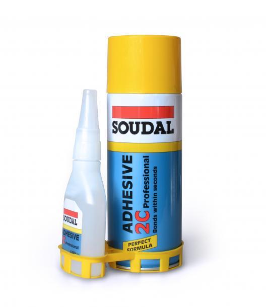 Двукомпонентно секундно лепило Soudal 50+200 гр