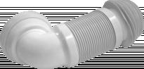 Гофриран разтегателен маншон WС O110/ъг