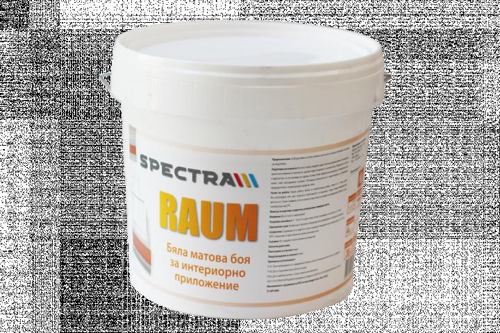 Бяла интериорна боя Spectra Raum 27 л