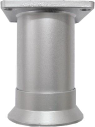 Крак мебелен PVC Ф48/80мм. матхром