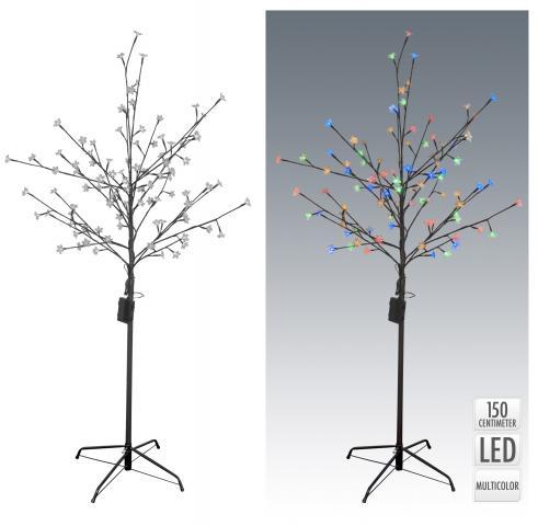 Светещо дърво 96 LED, многоцветна светлина
