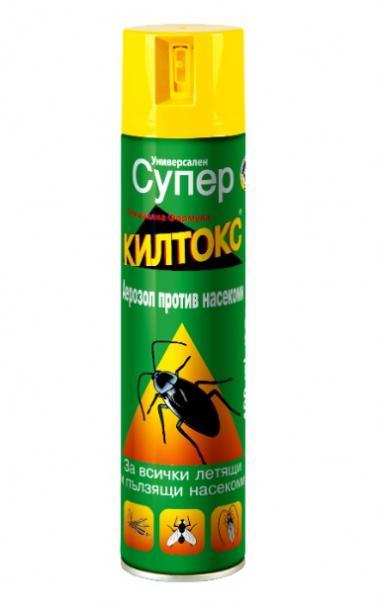 """СУПЕР КИЛТОКС"" Универсален Инсектицид 400 мл"