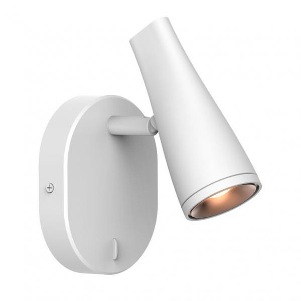 Спот LED 4.5W/340LM  бял синтетика