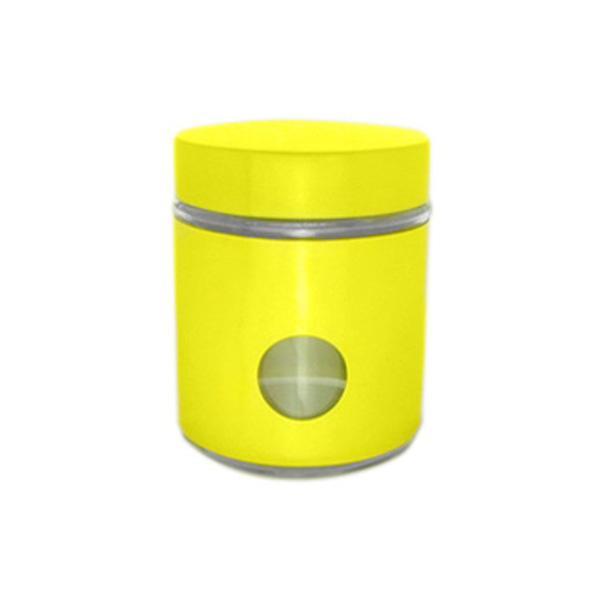 Буркан 10x12 см, жълт