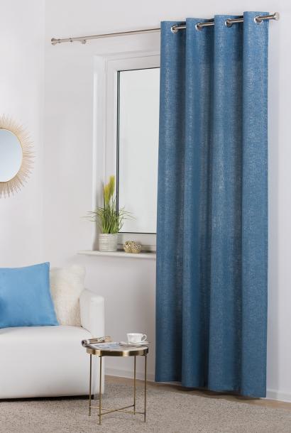 Готово перде Lure blue 140x245 см