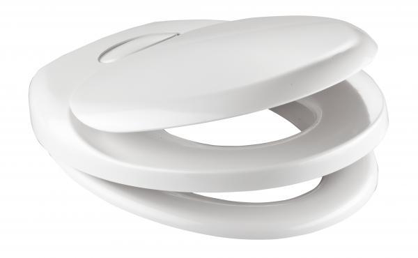 Тоалетна седалка WHITE Duroplast
