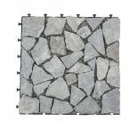 Мозаечна плоча 30х30см, сива