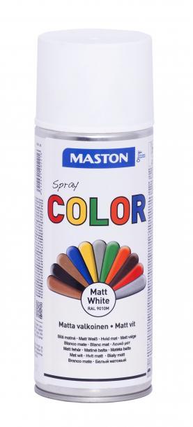 Спрей боя Maston 0.4л, бял мат