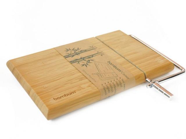 Бамбукова дъска за рязане на сирене 2