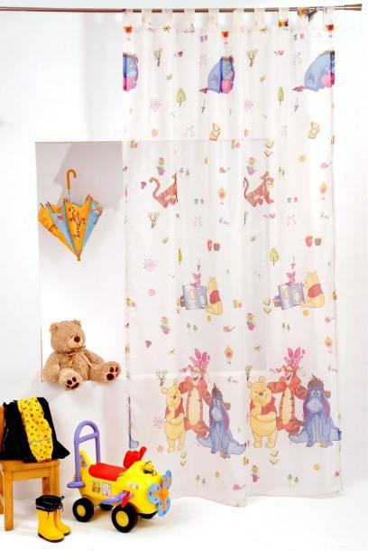 Перде детска стая Мечо Пух
