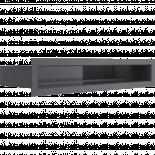 Решетка Luft 45о 6/40 см графит