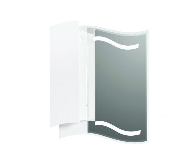 PVC  водоустойчив шкаф с огледало ГАЛАКСИ