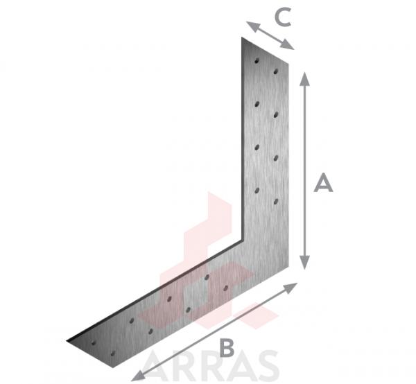 Планка L-образна175х175х35 х2