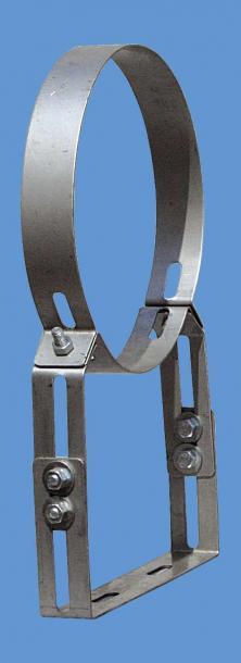 Скоби подсилени регулиращи Ф350