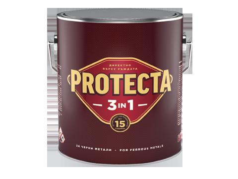 Протекта 3в1  2.5л, ефектна черна