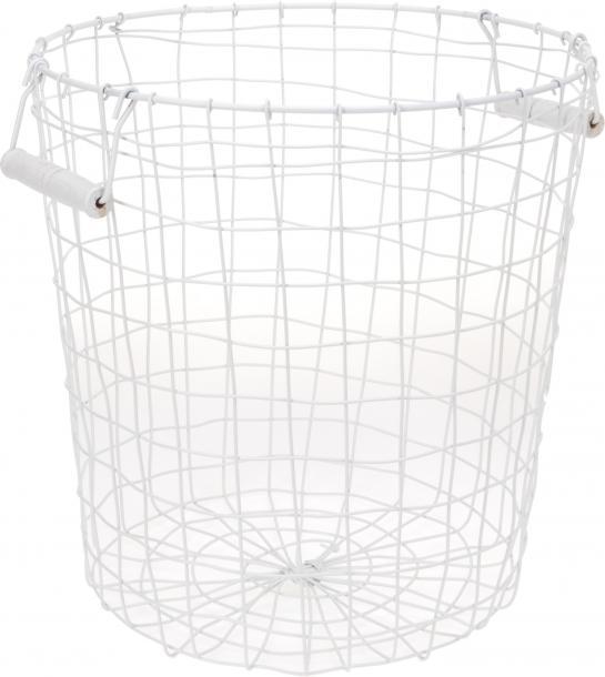 Кош метален 350х365мм бял