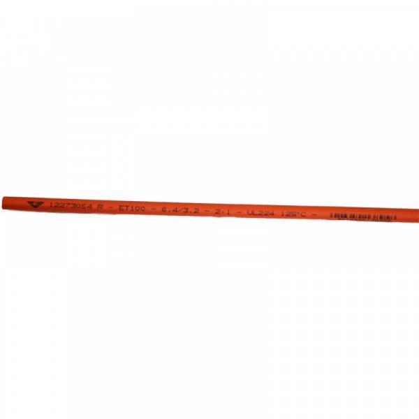 Термосвиваем шлаух 6.4/3.2 червен 1м. Elematic