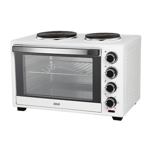 Готварска печка (мини) MUHLER MN-3809 бяла