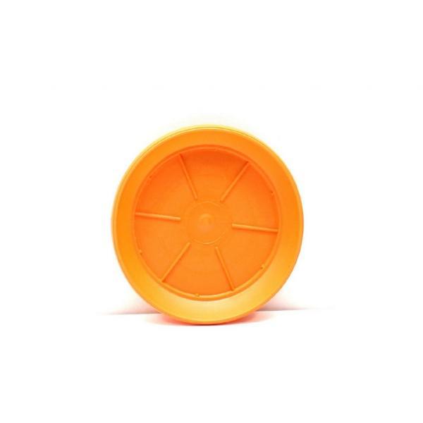 Подложка Ребра Ф:12см оранжева