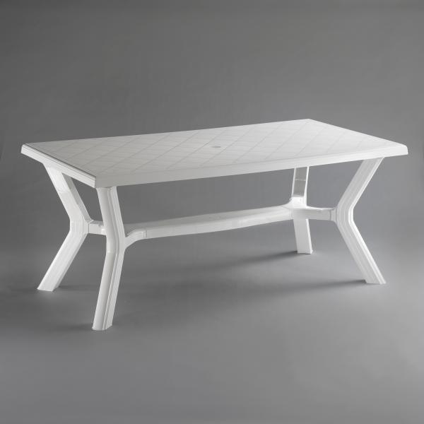 Маса Карибе175х90 см бяло