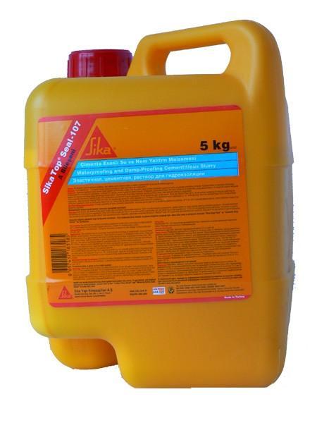 Хидроизолационен разтвор Сикатоп Сил-107 (А) 5 кг