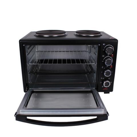 Готварска печка (мини) MUHLER MN-3809 черна 3
