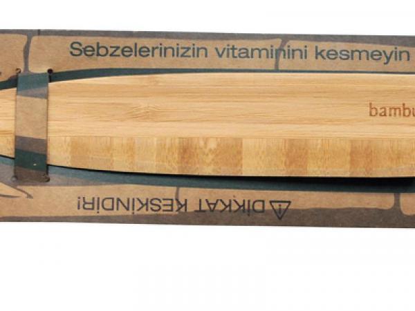 Бамбуков нож за плодове и зеленчуци