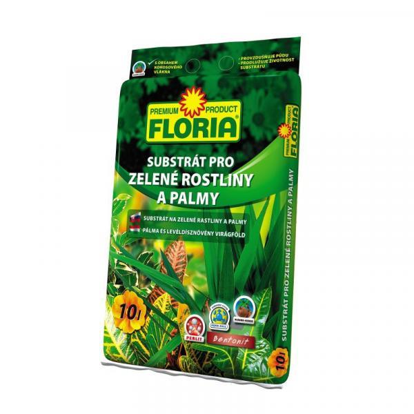 Субстрат FLORIA за палми и зелени растения 10л
