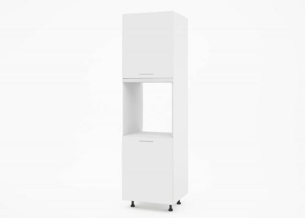 Крафт К1 колонен шкаф за фурна с две врати, бял гланц