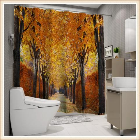 Завеса за баня 3D дигитална щампа 14