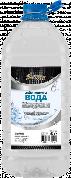 SEVAN дестилирана вода 5л