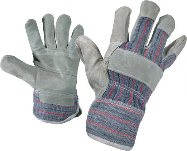 Ръкавици кожа и плат Gull n.10.5