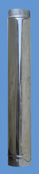 Димоотвод Ф100 25см инокс