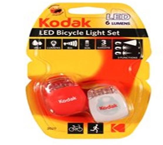 Предна и задна вело светлина KODAK LED