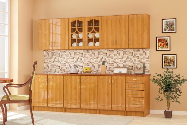 Кухня Оля 260 см, елша