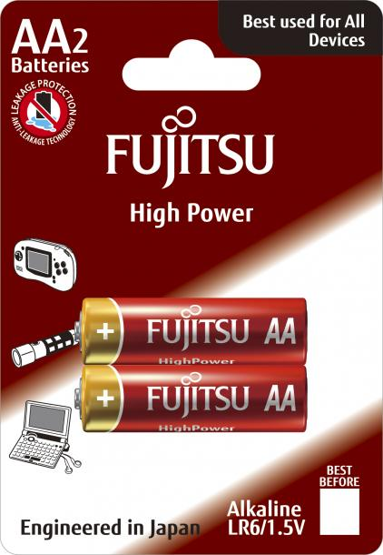 Батерии Fujitsu High Power АА 2BP