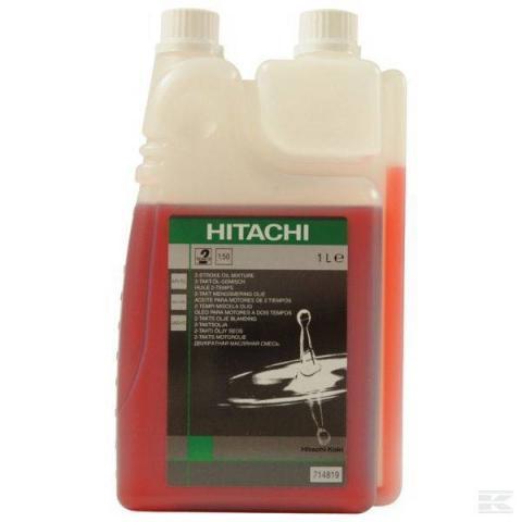 Масло двутактово Hitachi 1 л, с дозатор