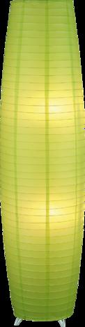 Мира лампион, хартиен, зелен
