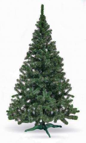 Изкуствена елха фолийна зелена