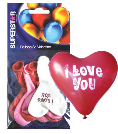 Балони 'Св. Валентин'