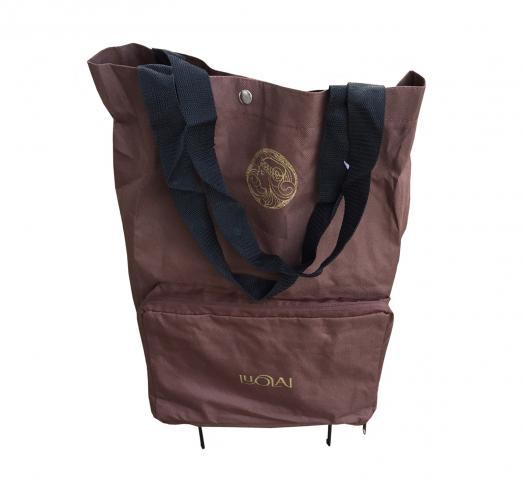Пазарска чанта сгъваема с колелца