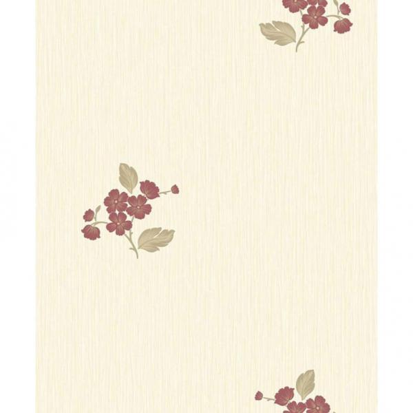 Тапет Малки червени цветя