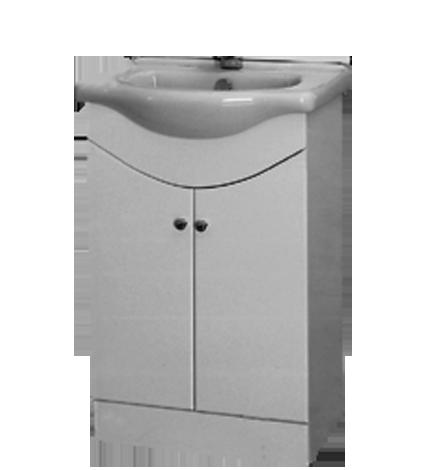 Мебел за баня Орион с мивка 55 см