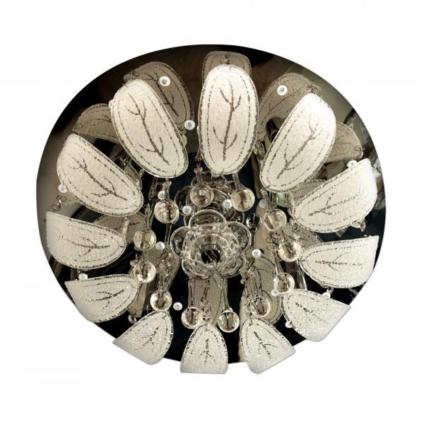 Плафониера Orhid с кристали 7хG9
