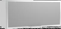 Трейси Шкаф горен R1 витрина 80х36x34 см, бял