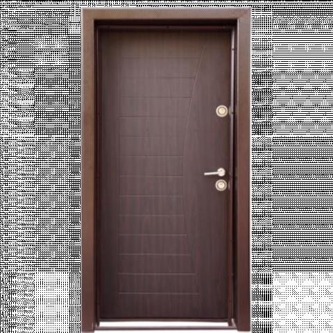 Блиндирана вътрешна входна врата, лява