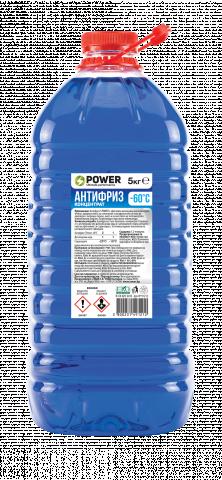 Антифриз концентрат -60°С 5кг  S power
