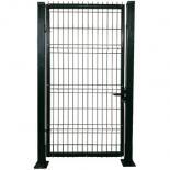 Единична врата ляво отваряне RAL 6005 150х100 см